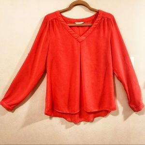 Stitch Fix 41 Hawthorn Coral Blouse Size Medium